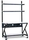 kendall howard 5000-3-100-48 48 inch land racking station workbench