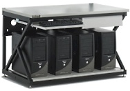 kendall howard 5000-3-300-48 48 inch lan bench workstation