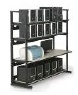 kendall howard 4 post lan racking shelving system