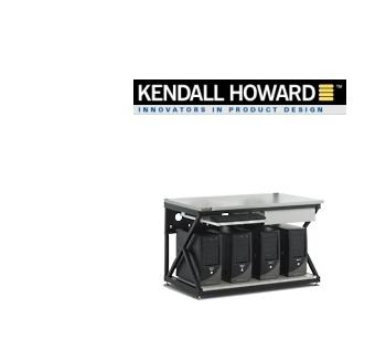 "Picture of 48"" Lan Computer Tech Workbench w/No Upper Shelving + Full Bottom Shelf"