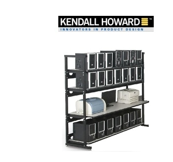 "Picture of 72"" Performance Plus 4-Post Lan/IT Shelving Unit"