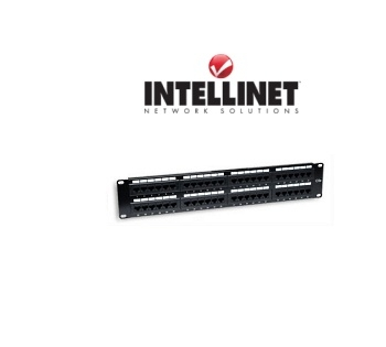 Picture of 48-Port Cat6 Rackmount Patch Panel (Punchdown)