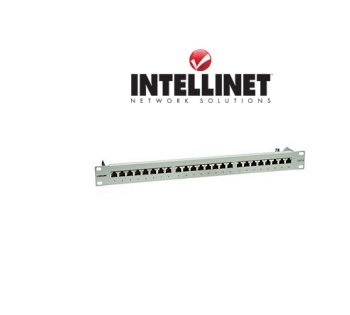 Picture of 24-Port Cat5e Rackmount Patch Panel (Shielded)
