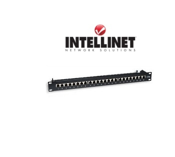 Picture of 24-Port Cat6 Rackmount Patch Panel (Shielded)